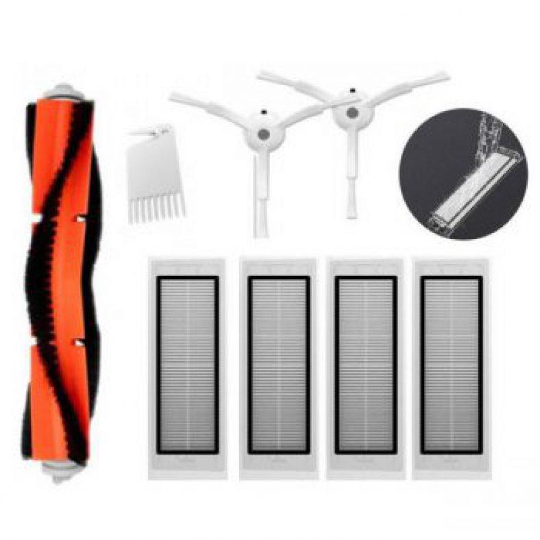 [US Stock] Main Brush Filters Side Brushes Accessories For XIAOMI MI Robot Roborock S5 S6 Vacuum Home Applicance Part Non-original