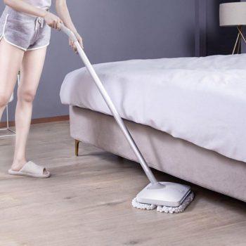 XIAOMI Mijia WXCDJ01SWDK Wireless Handheld Electric Mopping LED Wiper Floor Window Washers Wet Mop Vacuum Cleaner, 60min Long Battery life
