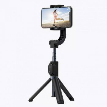 Yuemi One-Axis Gimbal Stabilizer bluetooth Remote Control Selfie Stick