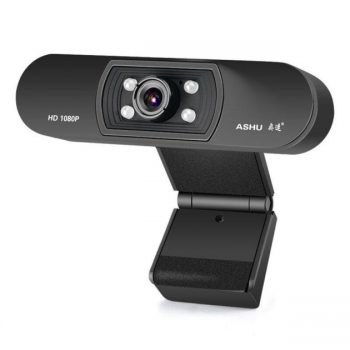 ASHU H800 1080P HD Widescreen Video Webcam Hdweb Camera with Built-In Hd Microphone for Laptop PC