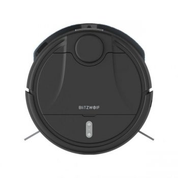 [EU stock - CZ] BlitzWolf  BW-VC2 Smart Robot Vacuum Cleaner with 380mL Dust & 100mL Water Tank, 2200Pa Strong Suction, Works with Alexa, 360° Laser Radar, 9 Sensors and APP Control