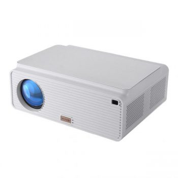 [EU stock - CZ] Blitzwolf BW-VP2 LCD Projector 6500 Lumens Support 4K Resolution Image Adjustment Multiple Ports Built-in Speaker Portable Smart Home Theater Projector With Remote Control