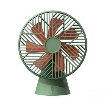 Sothing Desktop Air Fan from Xiaomi Youpin Stepless Adjustment Cooling Fan Low Noise 3 Speed Wind 4000mAh Battery Capacity
