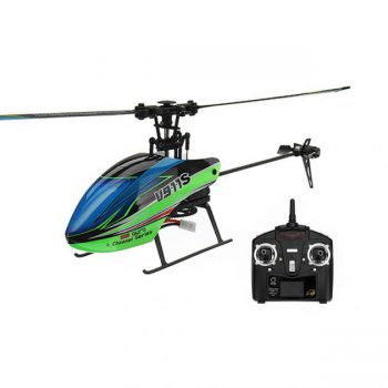 WLtoys V911S 2.4G 4CH 6-Aixs Gyro Flybarless RC Helicopter RTF - Mode 2