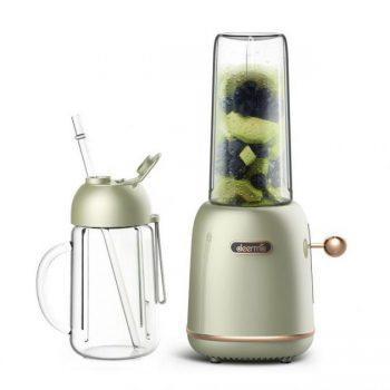 Deerma GZ30 200W 500ml Portable Juicer Fruit Vegetable Mixer Soybean Ice Crusher 2 Cups