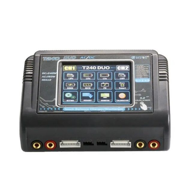 HTRC T240 DUO AC 150W DC 240W 10A Battery Balance Charger