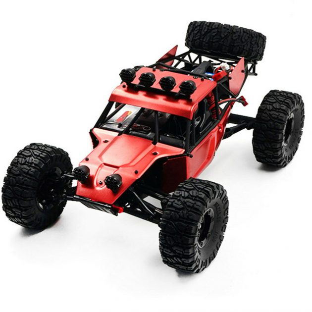 [EU stock - CZ] Feiyue FY03H 1/12 2.4G 4WD Brushless RC Car Metal Body Shell Desert Off-road Truck RTR Toy