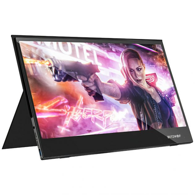 BlitzWolf BW-PCM5 15.6 Inch Touchable UHD 4K Type C Portable Computer Monitor