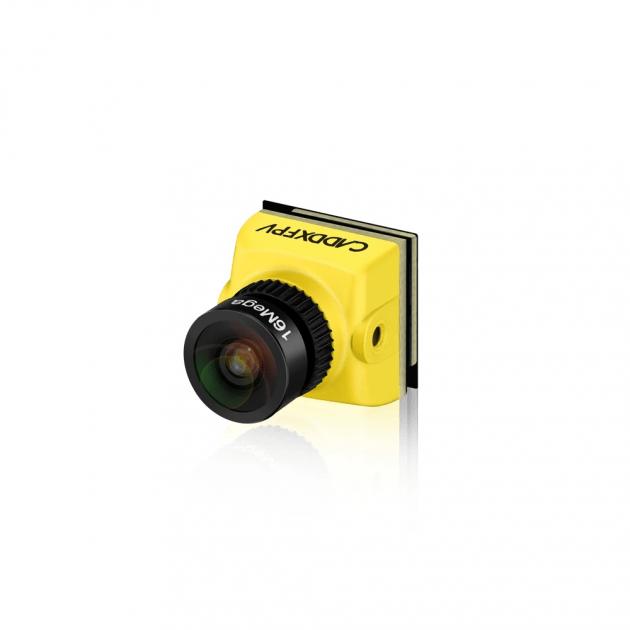 Caddx Baby Ratel FPV Camera 1200TVL 1/1.8'' Starlight HDR Sensor 0.0001 LUX Super Night Version with OSD 4.6g Ultra Light