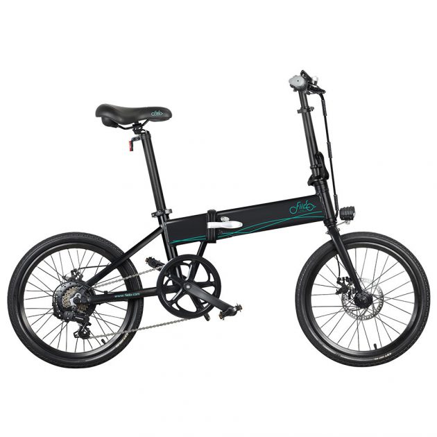 [EU stock - UK] FIIDO D4s 10.4Ah 36V 250W 20 Inches Folding Moped Bicycle 25km/h Top Speed 80KM Mileage Range Electric Bike