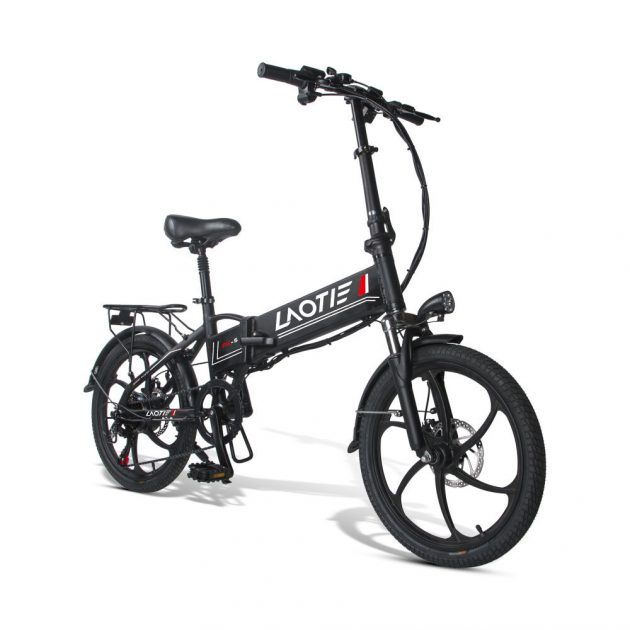 [EU stock - CZ] LAOTIE PX5 48V 10.4Ah 350W 20in Folding Electric Moped Bike