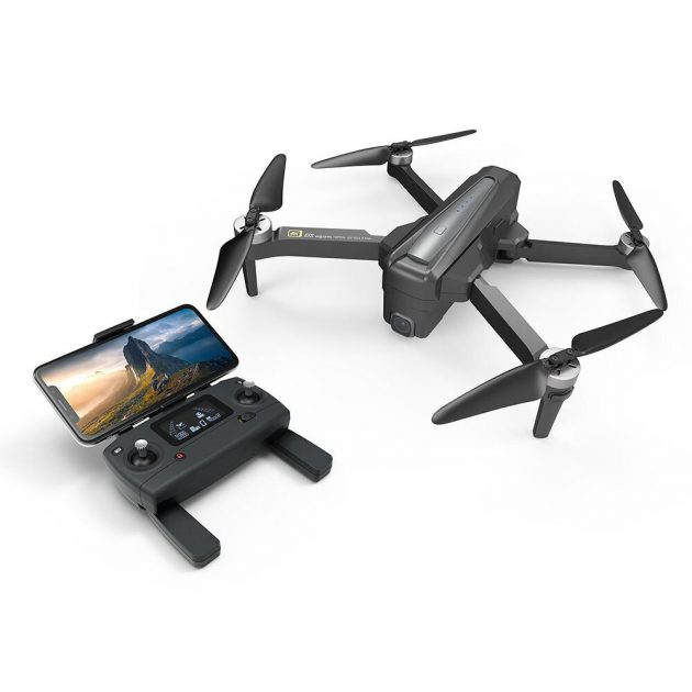 10% OFF MJX B12 EIS With 4K 5G WIFI Digital Zoom Camera 22mins Flight Time Brushless Foldable GPS RC Quadcopter Drone RTF