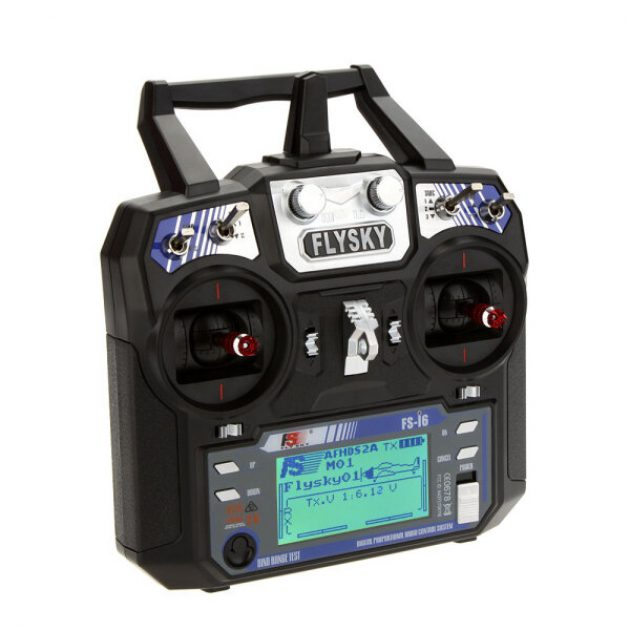 FlySky FS-i6 i6 2.4G 6CH AFHDS RC Radio Transmitter Without Receiver