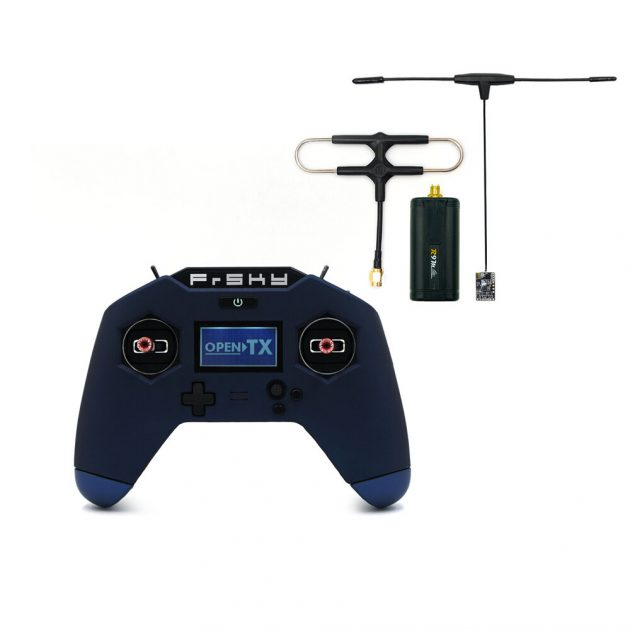 FrSky Taranis X Lite Pro 24CH ACCESS ACCST D16 Transmitter with R9M Lite 900MHz Long Range Module and R9 MX OTA ACCESS Receiver Combo
