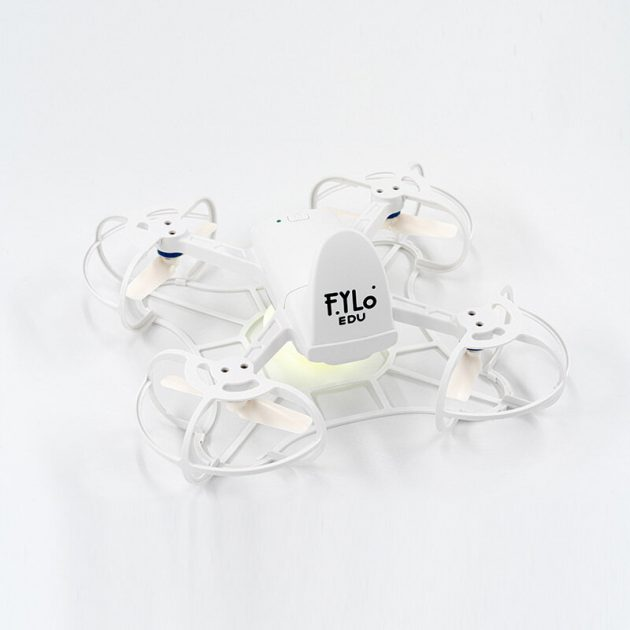 FYLO EDU Educational Programming Formation Drone With Scrath & Python Dual Programming Full Color LED Light 10PCS Drone