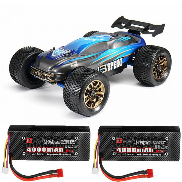 [EU stock - CZ] JLB Racing J3 Speed w/ 2 Battery 120A Upgraded 1/10 2.4G 4WD Truggy RC Car Vehicles RTR Model