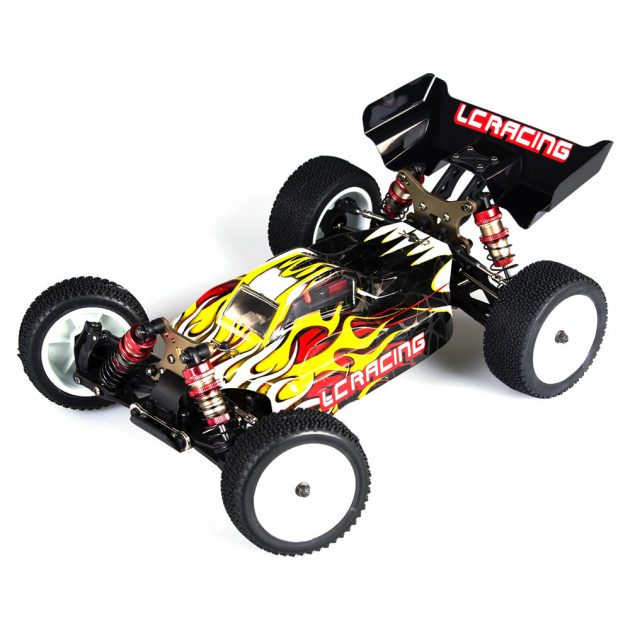 LC Racing EMB-SC 1/14 2.4G 4WD Brushless Short Course RC Car High Speed Vehicle Models RTR