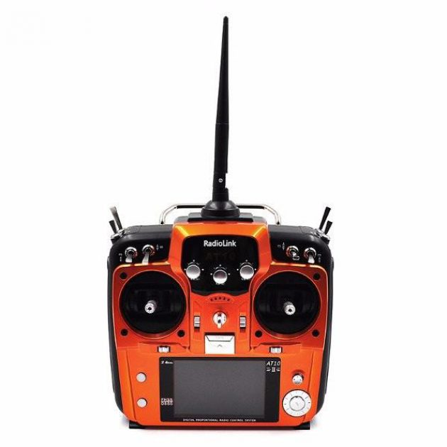 Radiolink AT10II 12CH RC Transmitter and Receiver R12DS 2.4GHz DSSS&FHSS Spread Radio Remote Controller
