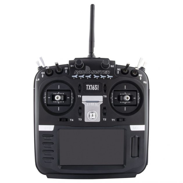 RadioMaster TX16S SE 2.4G 16CH CC2500 FrSky S-FHSS Protocol RF System OpenTX Potentiometer Gimbal Transmitter