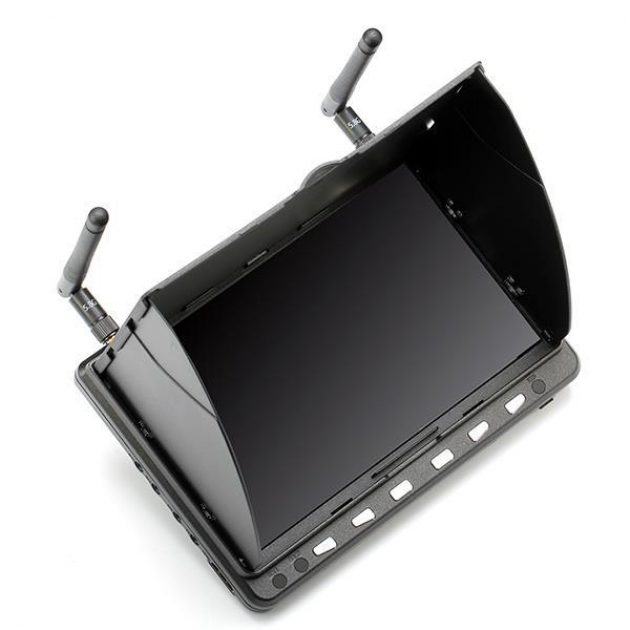 Skyzone HD02 40CH 5.8G 7 Inch 1024x600 HD FPV Monitor HD Port With/Without DVR Build in Battery