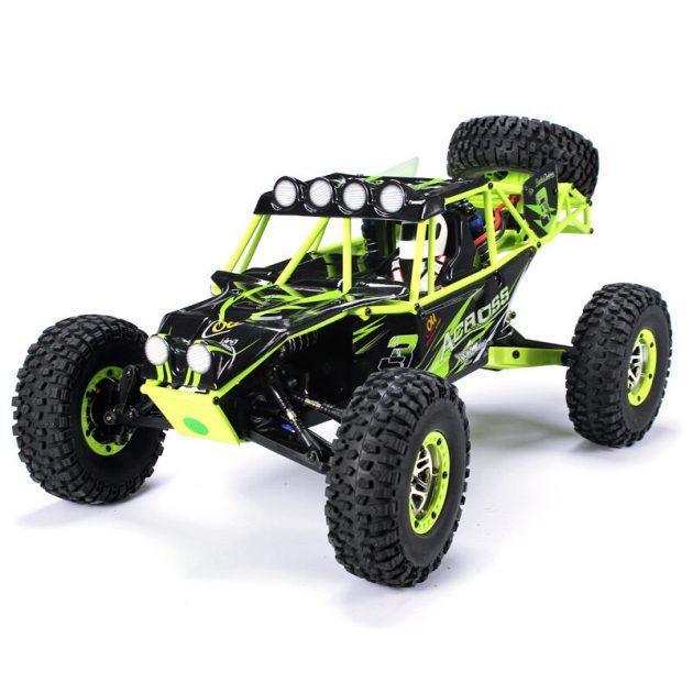 [EU stock - CZ] WLtoys 10428 1/10 2.4G 4WD RC Monster Crawler RC Car