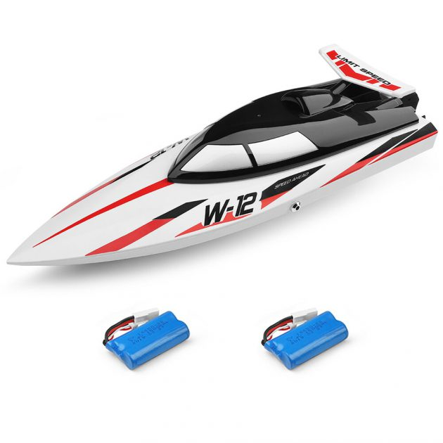 Wltoys WL912-A ABS High Speed 35km/h 100m Remote Control RC Boat Ship With Water Cooling System Vehicle Models Two Battery