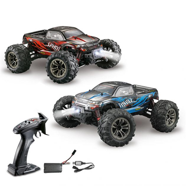 Xinlehong Q901 1/16 2.4G 4WD 52km/h Brushless Proportional control Rc Car with LED Light RTR