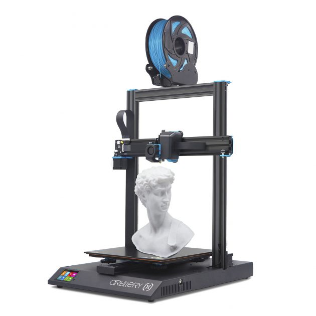 Artillery Sidewinder X1 3D Printer Kit with 300*300*400mm Large Print Size Support Resume Printing&Filament Runout Detection With Dual Z axis/TFT Touch Screen