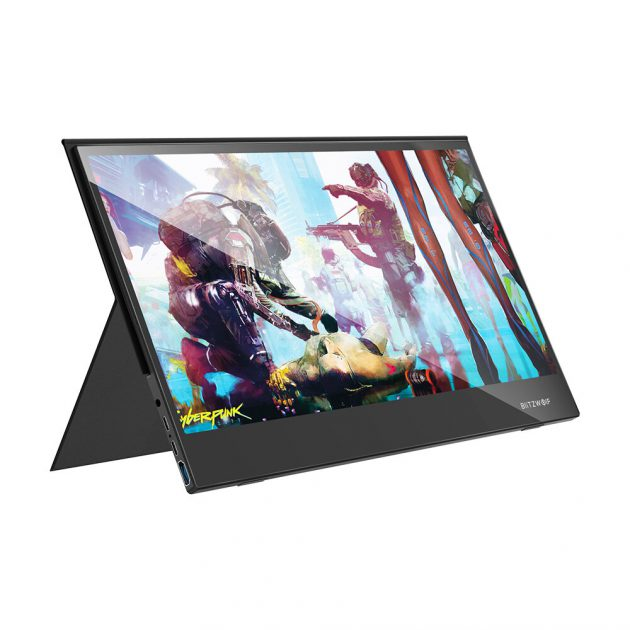 BlitzWolf BW-PCM6 FHD 1080P Type-C Portable Computer Monitor Gaming Display