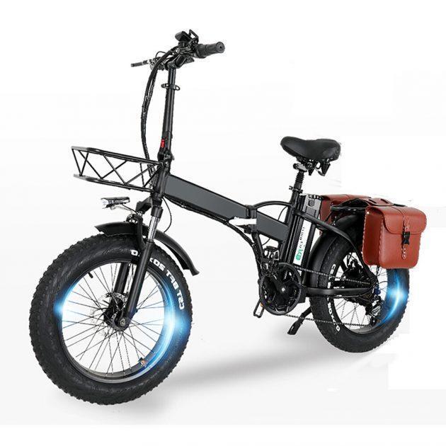 [EU stock - UK] CMACEWHEEL GW20 48V 15Ah 750W Electric Bike with Bag