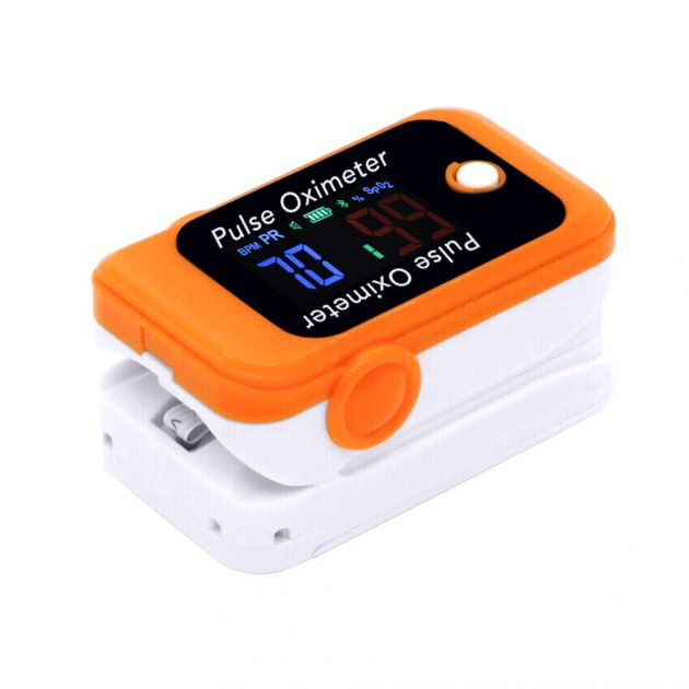 Finger Pulse Oximeter Accurate Smart Household Child Adult APP Pulse Oximeter PR SpO2