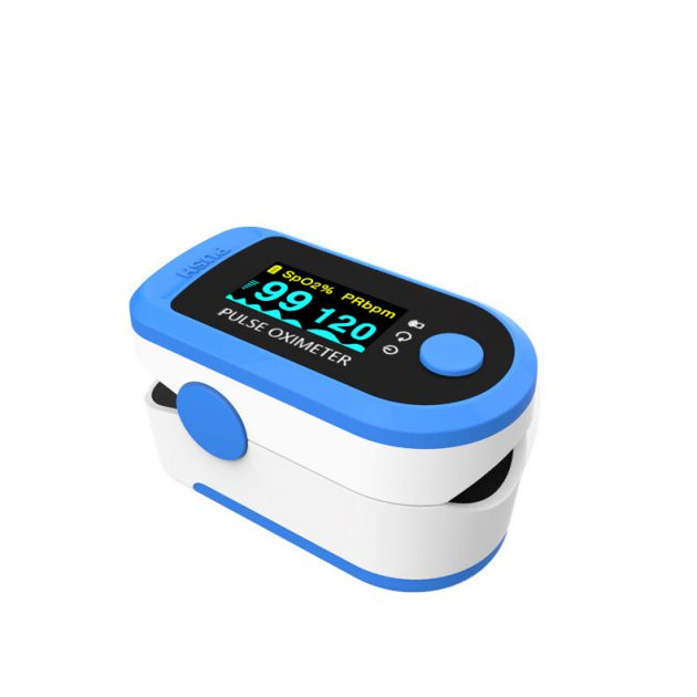 Finger Pulse Oximeter Sleep Monitoring Data Record Oximeter Spo2 PR PI Monitor Support Android iOS