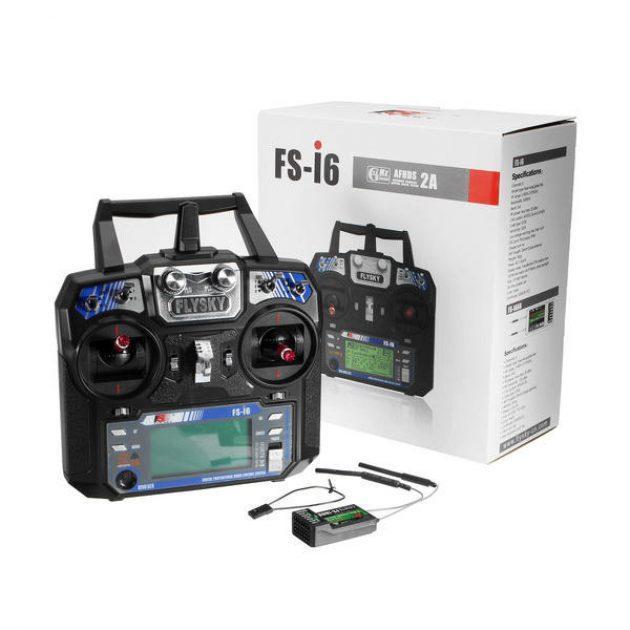 FlySky FS-i6 2.4G 6CH AFHDS RC Radion Transmitter With FS-iA6B Receiver RC FPV Drone