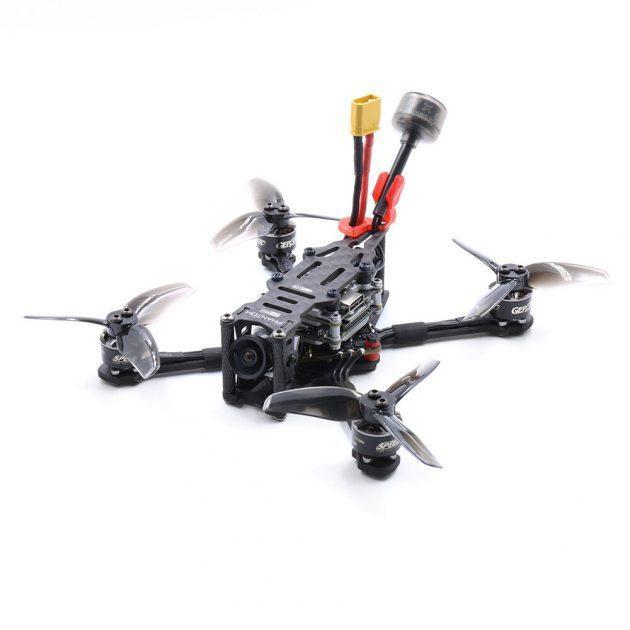 GEPRC PHANTOM HD Toothpick 125mm 2.5 Inch 4S FPV Racing Drone PNP/BNF Caddx Vista Nebula DJI Cam 20A ESC F4 FC AIO GR1105 5000KV Motor - Frsky R-XSR Receiver