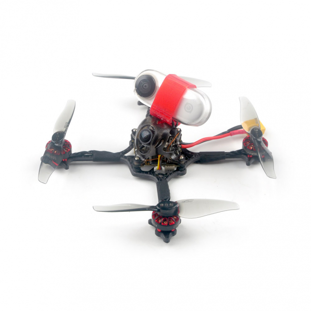 Happymodel Crux3 115mm CrazybeeX FR V2.2 F4 AIO ESC 25/200mW VTX 1-2S 3 Inch Toothpick FPV Racing Drone