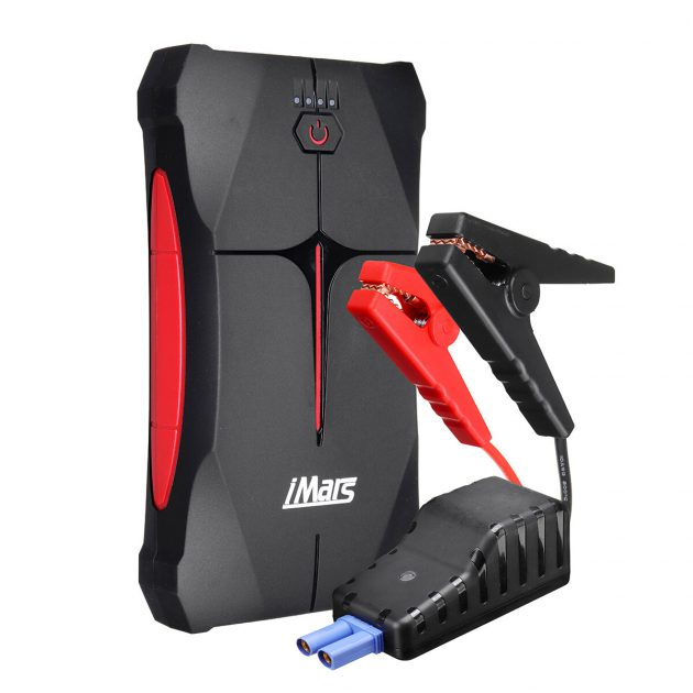 [EU stock - CZ] iMars Portable Car Jump Starter 1000A 13800mAh Powerbank Emergency Battery Booster