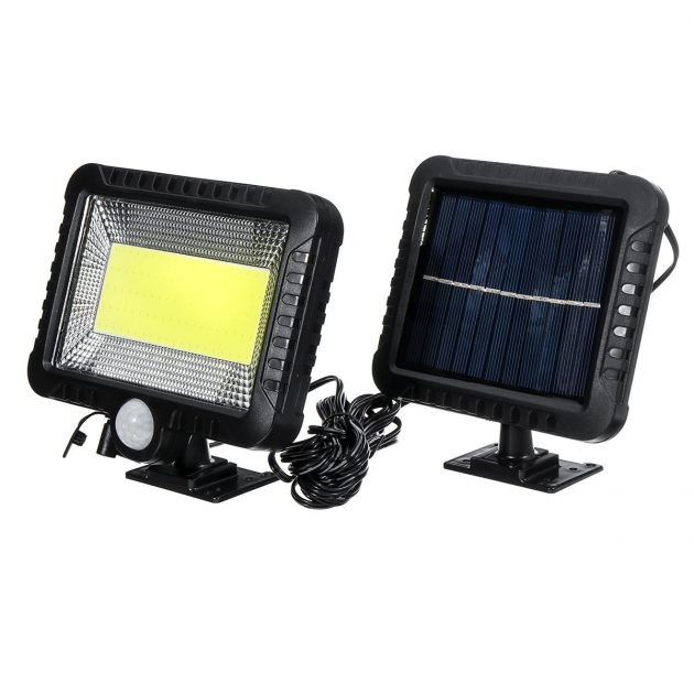 [EU stock - CZ] IPRee COB 100LED 30W 600Lumen IP65 Solar Lamp