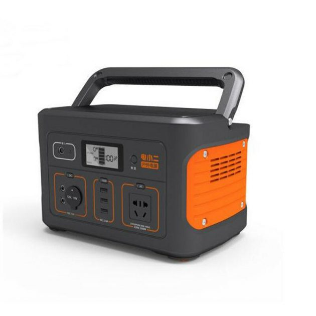 Jackery Explorer 600s Portable Power Station 626Wh Backup 110V/500W PureSine Wave AC Outlet Solar Generator for RC Drones Outdoors Camping Travel Emergency