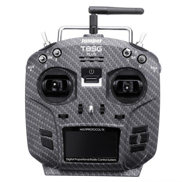 [EU stock - CZ] Jumper T8SG Plus V3 Carbon Special Edition Hall Gimbal Multi-protocol Advanced Transmitter
