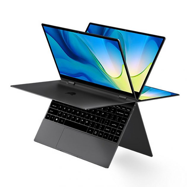 BMAX Y13 Power YUGA Laptop 13.3 inch 360-degree Touchscreen Intel Core m7-6Y75 8GB RAM 256GB SSD 38Wh Battery Full-featured Type-C Backlit 5mm Narrow Bezel Notebook