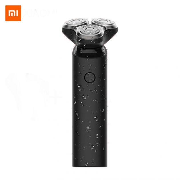 [EU stock - CZ] Xiaomi Mijia S1 Electric Razor IPX7 Waterproof Wet Dry Shaving Machine 3 Blades Trimmer Shaver USB Rechargable For Men's Gift Portable in Travel