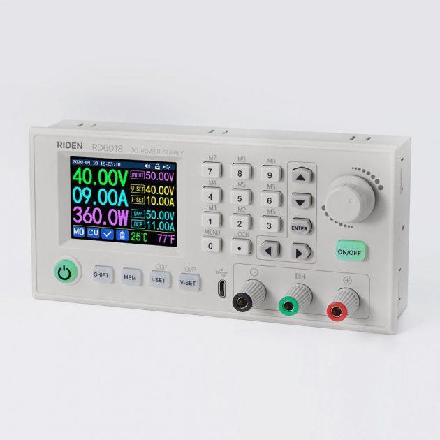 RIDEN RD6018 RD6018W USB WiFi DC to DC Voltage Step Down Power Supply Module Buck Converter Voltmeter Multimeter 60V 18A 1080W