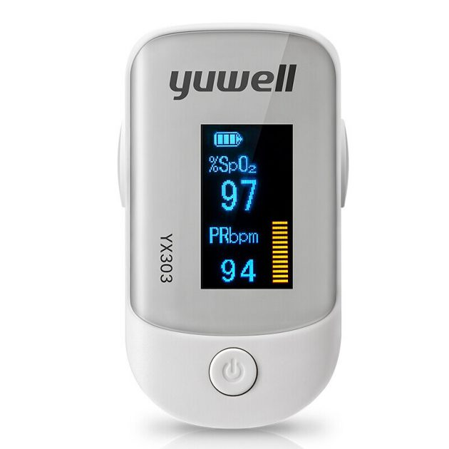 YUWELL YX303 Pulse Finger Oximeter Meter LED Display Direction Portable Pulse Oximeter Blood Monitor Color Oxygen SPO2 from Xiaomi Ecological Chain
