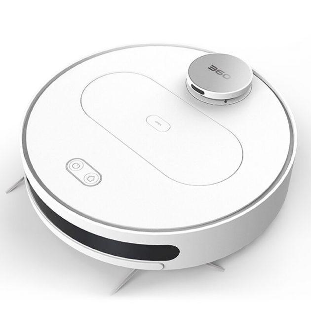[EU stock - CZ] 360 S6 Robot Vacuum Cleaner 1800Pa Suction Mopping Sweeping Mode APP Remote Control LDS Lidar SLAM Algorithm 3000mAh Battery Life