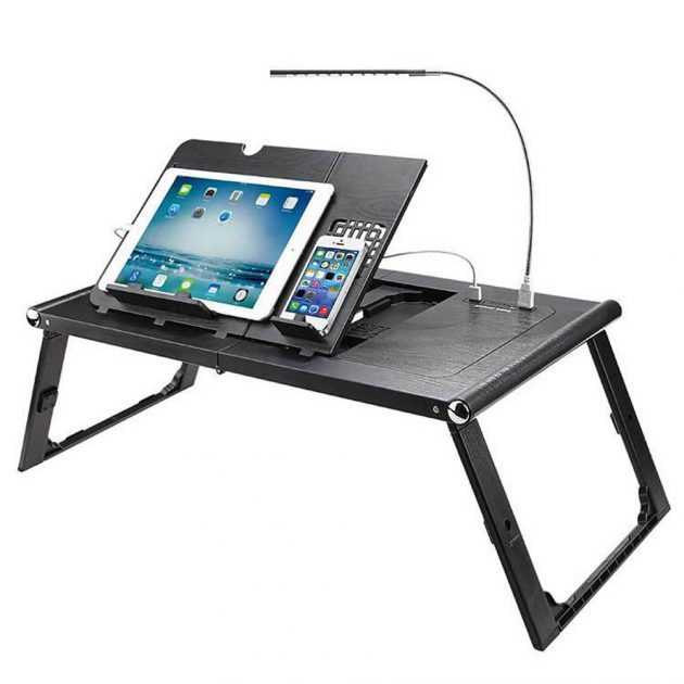 Lazy Laptop Desk Smart Folding Bed Table Laptop Ergonomic Portable Desk for Home Office