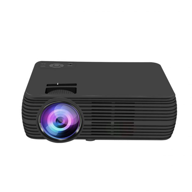 X5 LCD Projector Support 1080p HD Multimedia Home Cinema Smart Home Theater LED Projector HDMI VGA AV SD USB