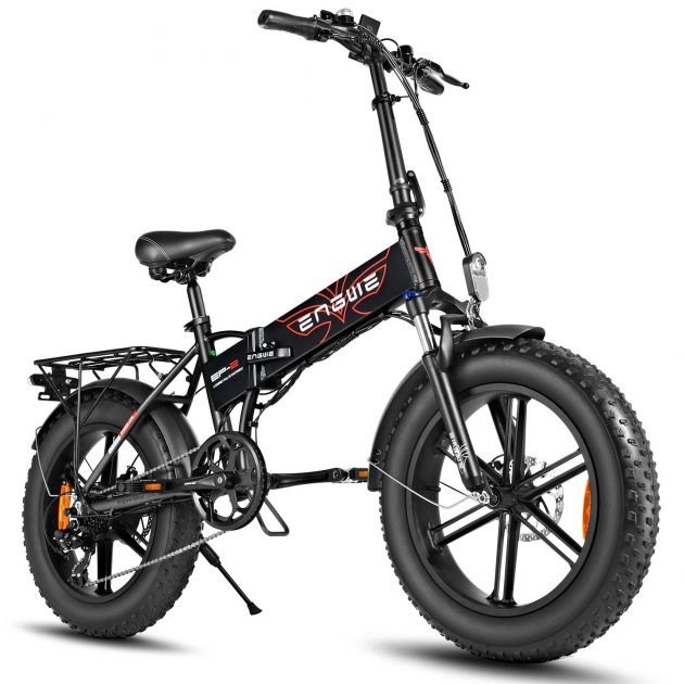 [EU stock - CZ] ENGWE EP-2 PRO 12.8Ah 750W Fat Tire Folding Electric Bike