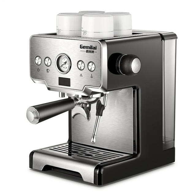 [EU stock - CZ] Gemilai CRM3605 Coffee Maker Machine Stainless Steel Coffee Machine 15 Bars Semi-automatic Commercial Italian Coffee Maker