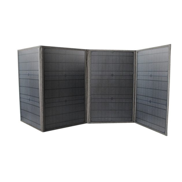 100W 18V Monocrystalline Foldable Solar Panel Kit