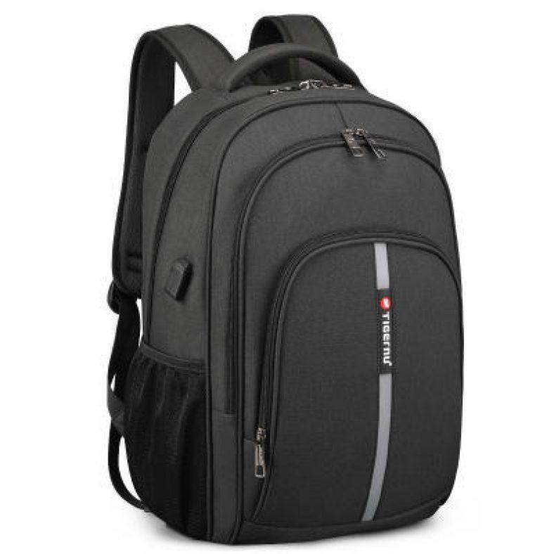 2020 Tigernu New Large Capacity Backpack 15.6 inch Anti Theft Waterproof Business Men Laptop Bag